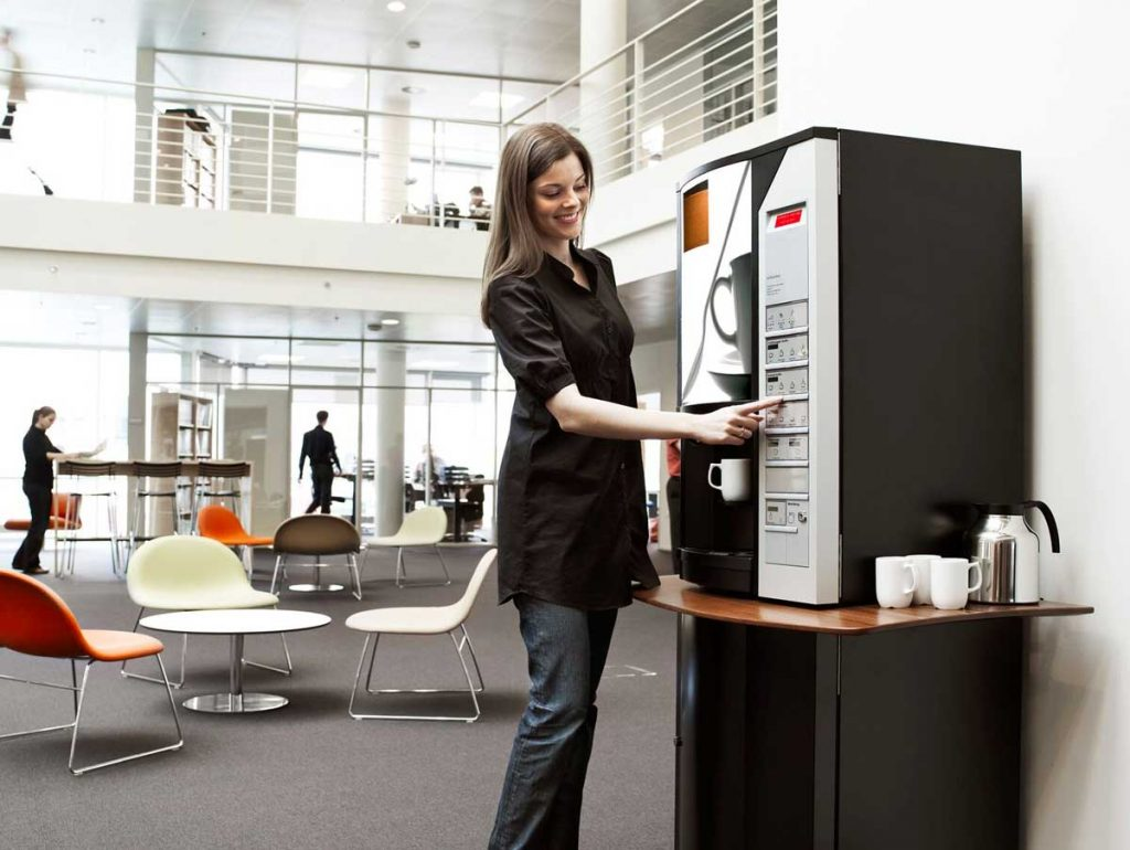 3 benefits of keeping a coffee machine at office