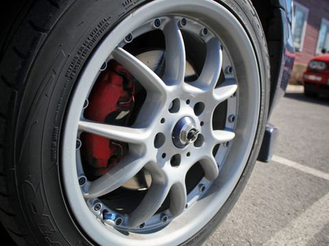 Performance of car tyres